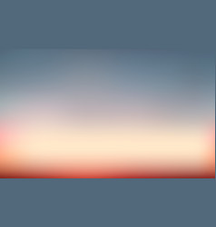 Gradient blurred background natural color vector