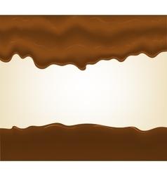 Hot chocolate splash vector