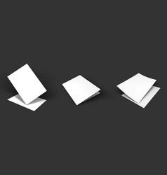 Mockup on dark background vector