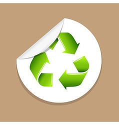 Recycle Label vector