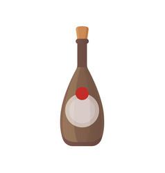 set design alcohol bottles vector image