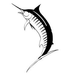 Swordfish and sailfish eps vector