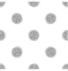 tree rings pattern seamless vector image