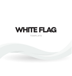 waving flag banner template country national vector image