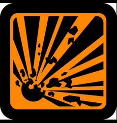european hazard pictogram vector image