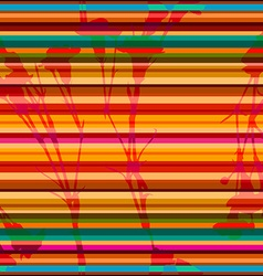 striped pattern of carnation vector image vector image