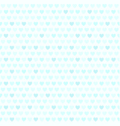 Cyan heart pattern seamless background vector