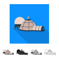 Isolated object base and space logo collection vector
