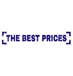 Scratched textured the best prices stamp seal vector