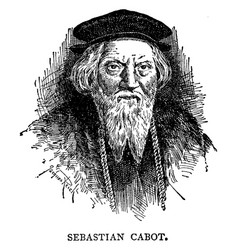 Sebastian cabot vintage vector