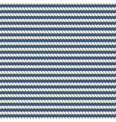 Striped nautical ropes seamless background vector image