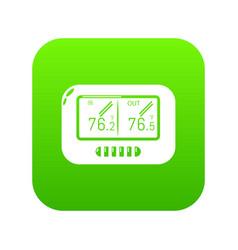 Tonometer icon simple style vector