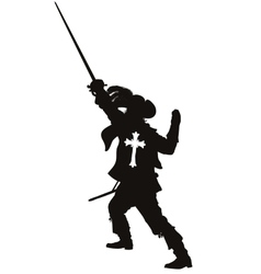 Musketeer Warriors Theme vector image