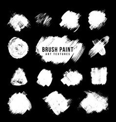 paint brush strokes texture vector image