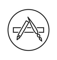 Appstore vector image