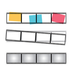 blank film frame stock image of fram vector image