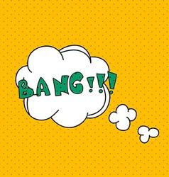 comics pop art style blank layout template vector image