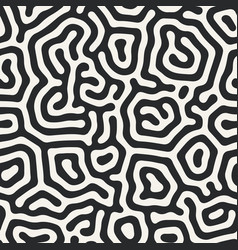 diffusion reaction seamless pattern black vector image