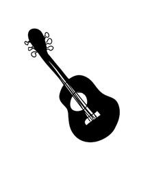 Guitar instrument icon image vector