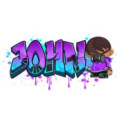 John vector