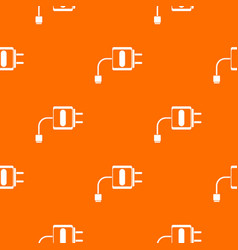 Mini charger pattern seamless vector
