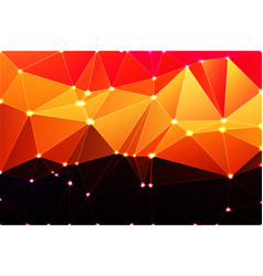 purple orange yellow red brown geometric vector image