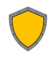 shield guard isolated icon design vector image