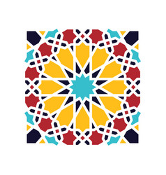 islamic seamless vector image