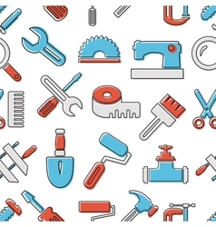 Pattern seamless industrial vector image vector image