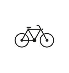 bicycke bike icon vector image