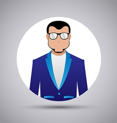 Design icons man on a white background vector image
