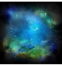 The Galaxy vector image