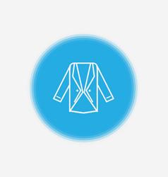 blazer icon sign symbol vector image