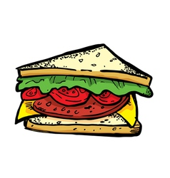 BLT sandwich vector