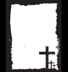 Easter grunge vector image