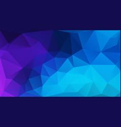 flat blue geometric triangle wallpaper vector image