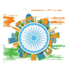 Happy indian republic day banner vector