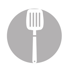 Kitchen spatula tool icon vector