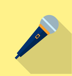 microphone icon voice recorder interview vector image