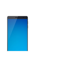 modern touch screen smartphone concept vector image