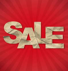 Sale Sunburst Background vector image