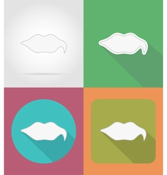 speech bubbles flat icons 16 vector image