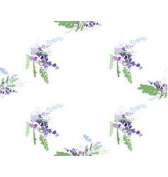 summer flower composition vector image