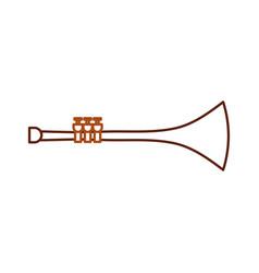 Trumpet wind musical instrument horn vector