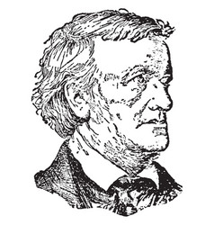 William wagner vintage vector