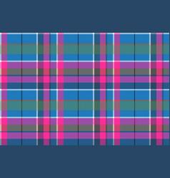 Blue pink pixels pattern seamless fabric texture vector