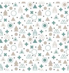 textile tribal background geometric scandinavian vector image vector image