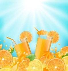 Abstract Background for Cocktail Party vector image