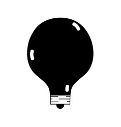 contour energy bulb to illuminate places vector image