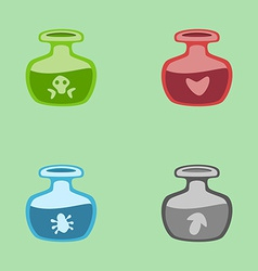 magic potions vector image vector image